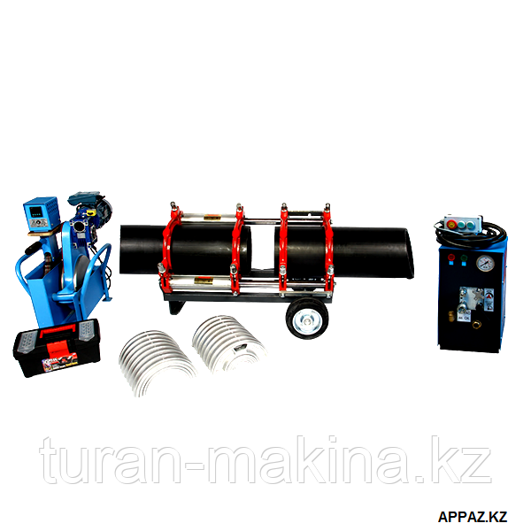 Сварочные аппараты Туран Макина для труб 75-250 мм.