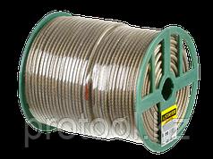 Трос стальной в полимерной оболочке, d=2,0 мм, L=200 м, STAYER Master