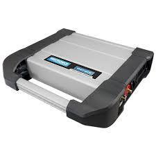 Зарядное устройство 12В 70A с режимом источника питания, 3м зарядные кабели, 2м кабель питания
