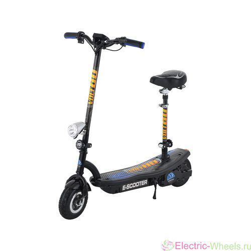 Электросамокат складной с сиденьем и дисплеем El-sport scooter CD12C-S