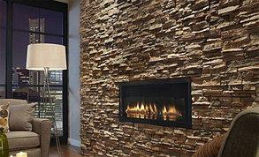 Облицовка стен декоративным камнем, мозаикой, плиткой