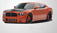Обвес Couture Luxe Wide на Dodge Charger 2005-2010, фото 1