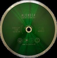 Сплошной алмазный диск по мрамору 350 мм. ALEXDIA