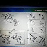 Ремкомплект заднего тормозного суппорта PRADO 120, 4RUNNER GRN215 2005, фото 4