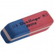 Ластик двухцветный Berlingo 50*18*9 мм