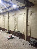 Фасадная штукатурка - жидкий травертин в Астане