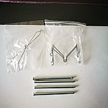 Ремкомплект тормозных колодок HILUX TGN26, RZN185, LAND CRUISER PRADJ 120 TRJ120, фото 2