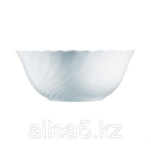 TRIANON салатники, диаметр 18 см, белые, 6 шт