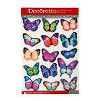 Наклейки интерьерные 'Вечерние бабочки'