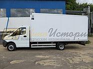 Копия Газель Некст.  Изотермический фургон (экструдер) 5,1 м., фото 2