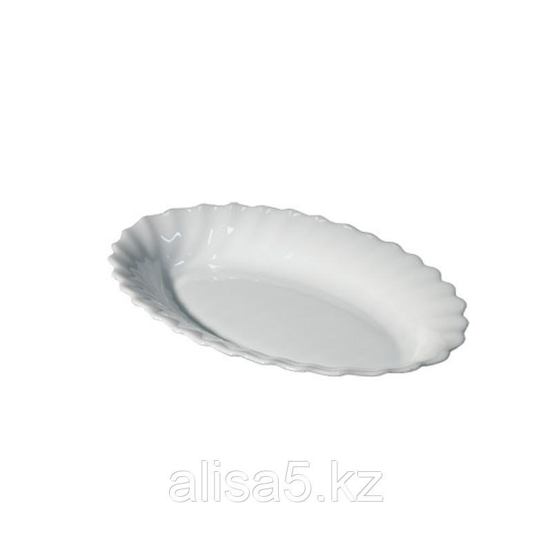 TRIANON селедочницы 22 см, белые, 3 шт