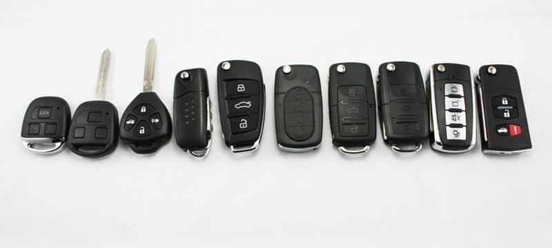 Изготовление ключей для автомобиля с чипам