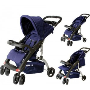 Прогулочная коляска Shopper Blue с рождения