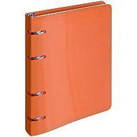 Тетрадь 80л на кольцах ArtSpace сменный блок оранжевый, пластиковая обложка