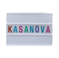 Декор. вывеска «KASANOVA» микс