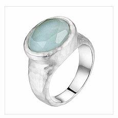 "Кольцо ""Elle"" с амазонитом / 17,5 размер"