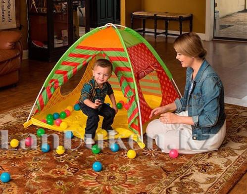 Детская игровая палатка с шариками автомат 112х112х90 Bestway 68080 - фото 1