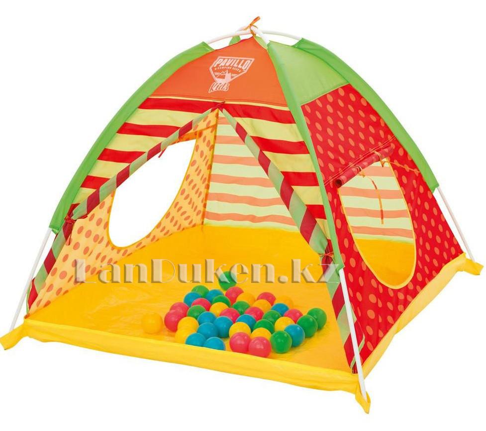 Детская игровая палатка с шариками автомат 112х112х90 Bestway 68080 - фото 2
