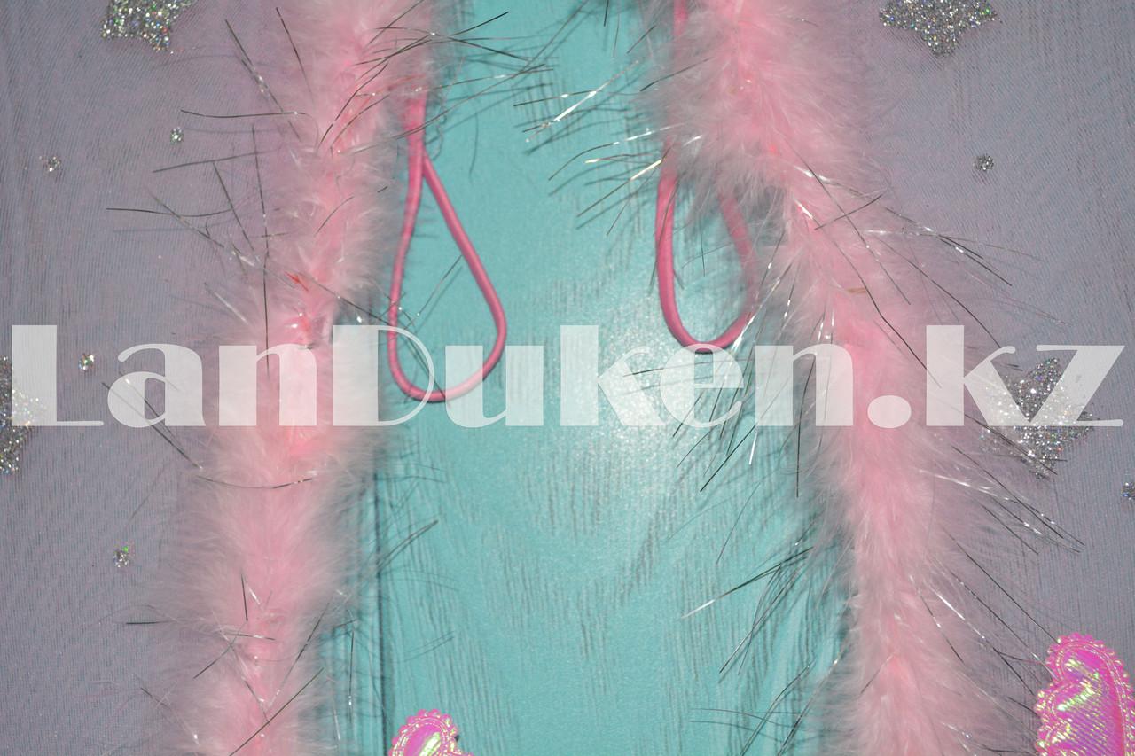 Набор Ангела крылья и волшебная палочка (розовый) - фото 5