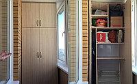 Шкаф встроенный на балкон, фото 1