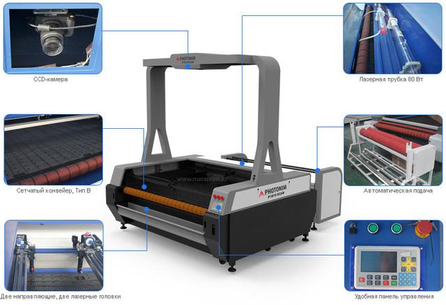 Особенности лазерного режущего станка Photonim P1810 Scan