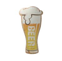 """Декоративная вывеска с надписью """"Beer"""" 30*60 см."""