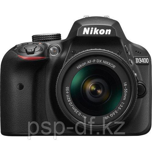 Nikon D3400 kit 18-55mm + 70-300mm