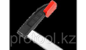 """Струбцина ЗУБР """"МАСТЕР"""", тип """"F"""", пластмассовая ручка, стальная закаленная рейка, 120х1000мм, фото 2"""