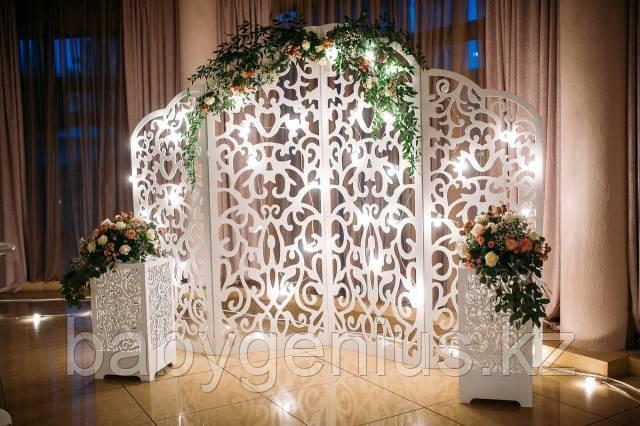 Свадебная ширма, свадебная арка, фотозона