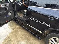 Электрические выдвижные пороги подножки для VW Touareg