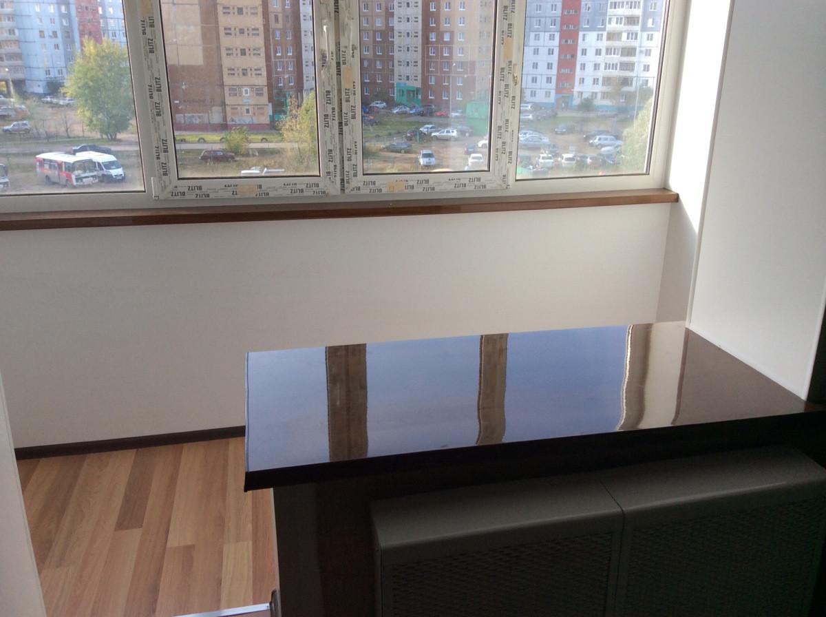 Балкон Объединение с комнатой