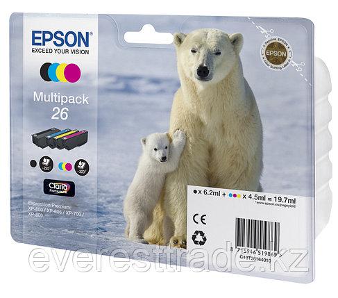Картридж Epson C13T26164010 XP600/7/8 набор 4шт, фото 2