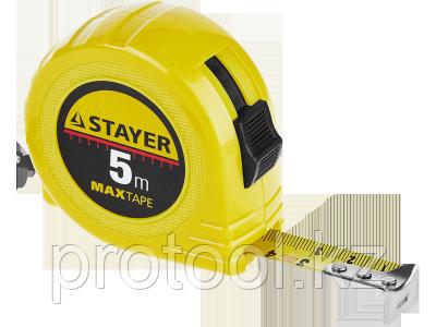 "Рулетка STAYER ""МASTER"" ""MaxTape"", пластиковый корпус, 3м/16мм"