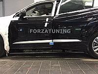 Электрические выдвижные пороги подножки для Audi Q5 2010-2017