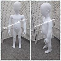 Манекен детский белый матовый производство Турция