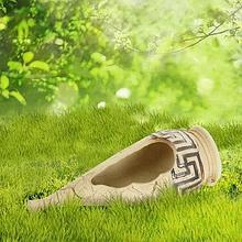 "Садовая фигура ""Каисса"" малая, амфора, шамот"