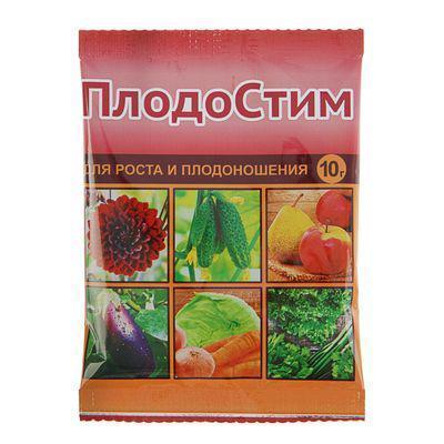 Средство для роста и плодоношения Плодостим, пакет,10 г, фото 2