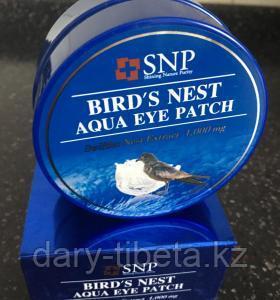 SNP Bird`s Nest Aqua Eye Patch-Гидрогелевые патчи для области вокруг глаз