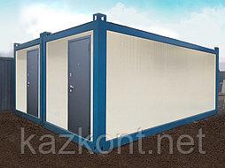 Утепленный сборно-разборный блок контейнер Алматы.