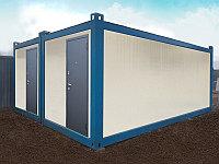 Здания из сборно-разборных блок контейнеров.