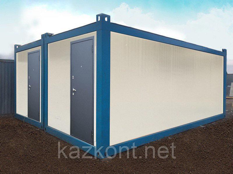 Утепленный сборно-разборный блок контейнер.
