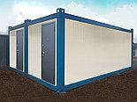 Купить дом из 20 футового сборно-разборного блок контейнера., фото 2