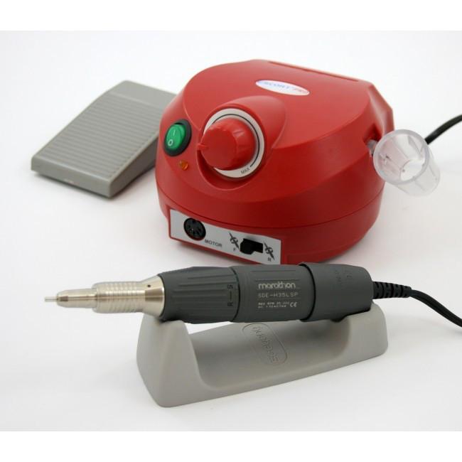 Marathon Escort II PRO - косметологический аппарат для маникюра с наконечником H35LSP, 35000 об/мин, 40 Вт, педаль SFP-22 | Saeyang Microtech (Ю.