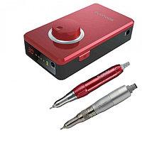 Marathon K38 - портативный щеточный зуботехнический микромотор (красный) | Saeyang Microtech (Ю. Корея)