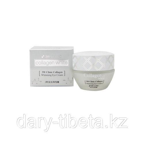 3W Clinic Enough  Collagen Whitening Cream-Крем от морщин и отбеливающий