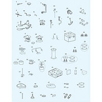 Болты для крепления монтажных пластин (2 шт.) для всех артикуляторов PROTAR evo | KaVo (Германия)