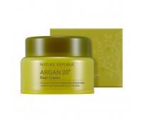Nature Republic Argan 20 Real Cream -Питательный крем с маслом арганы