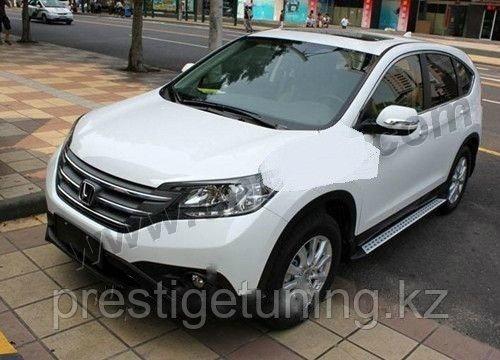 Подножки \ пороги на Honda CR V NEW 2013