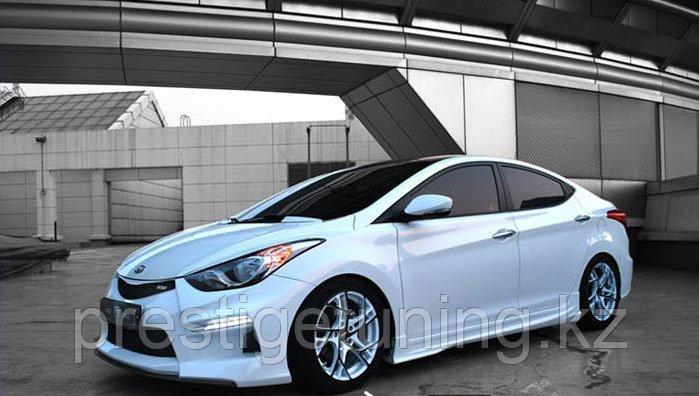 Обвес M&S на Hyundai Elantra