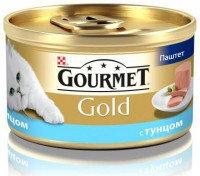 Gourmet Gold Паштет с тунцом Консервы для кошек, 85г.
